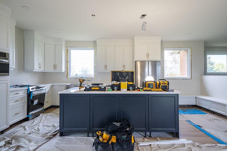 Kitchen renovation, Glengarry Construction