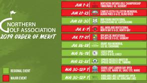 2019 Order of Merit Schedule Announced
