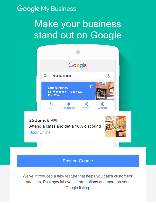 Why you should use Google My Business listings. Baxter Marketing & Creative
