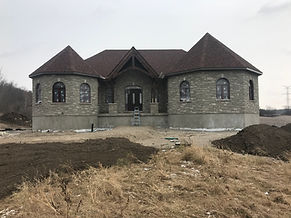 Custom Home - Castle on the Hill in Quinte