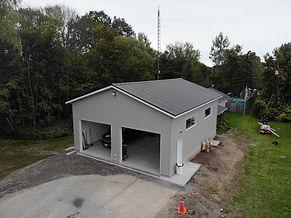 New garage build - Pappy's Garage