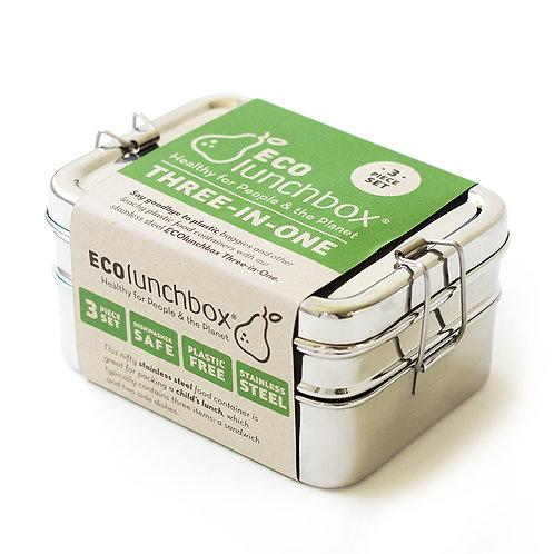 EcoLunchbox 3 in 1 Edelstahl