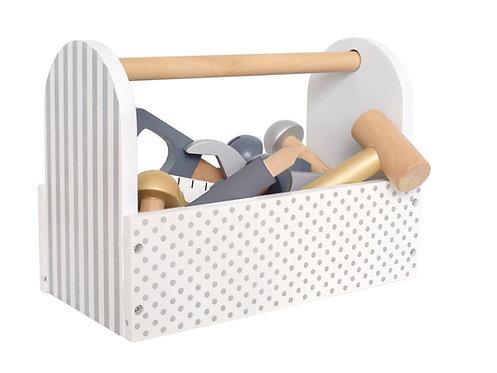 JABADABADO Werkzeugbox Silber