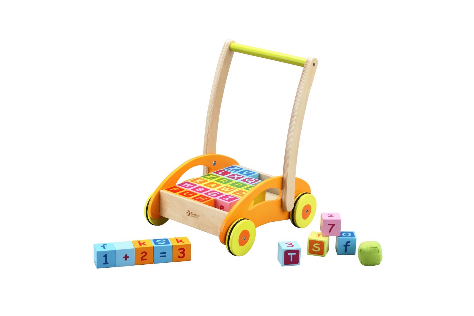 Babywalker Lernlaufwagen mit Bausteinen CLASSIC WORLD