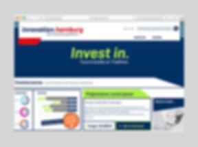 Investitionsbereich der Plattform