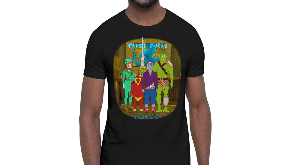 Fiend Folly Gang at the Random Inn Counter Short-Sleeve Unisex T-Shirt