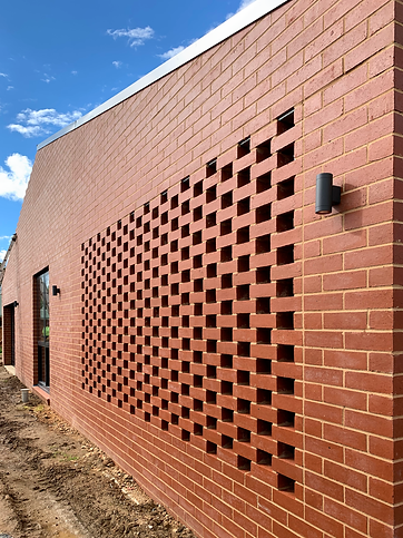 Cooinda Village Ledger Wing hit and miss brick wall