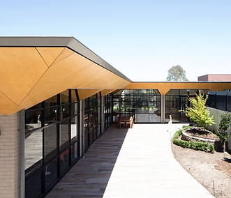 Blair Architects Lynden Aged Care Facility Cemberwell Sunken Courtyard Lanscape