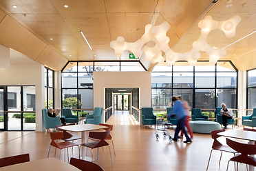 Blair Architects Lynden Aged Care Facility Cemberwell communal cafe bar
