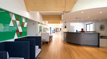 Blair Architects Lynden Aged Care Facility Cemberwell reception