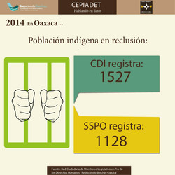 Poblaicón indígena en reclusión