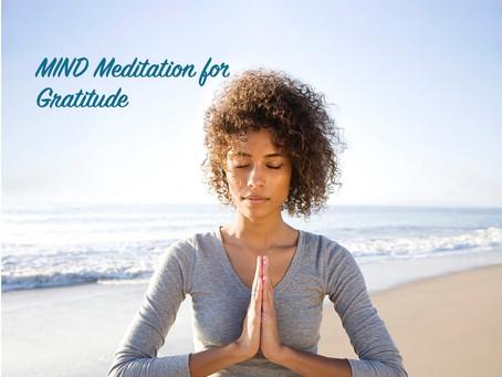 MIND Meditation for Gratitude