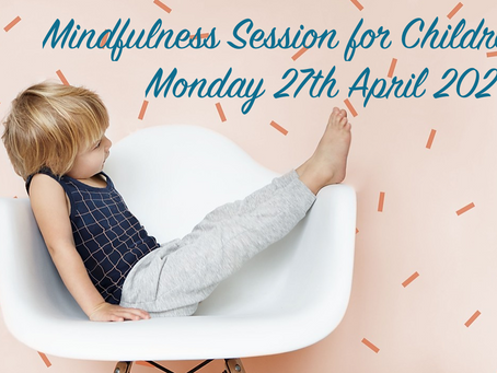 Children's Mindfulness Session on HUGS