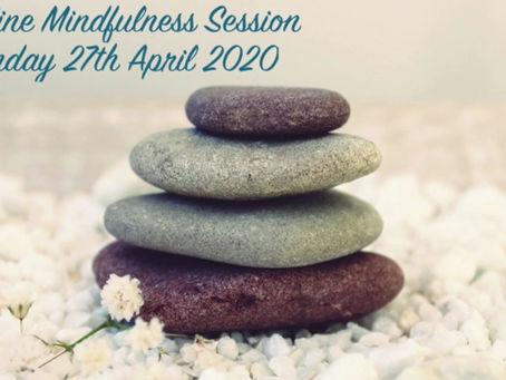 Online Mindfulness Session - Gratitudes
