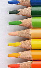 multi-colored-pencils-on-the-white-paper