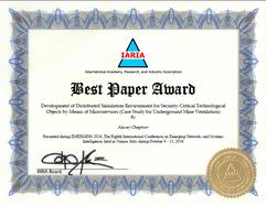 Best Paper Award for PHANTOM at EMERGING-2016