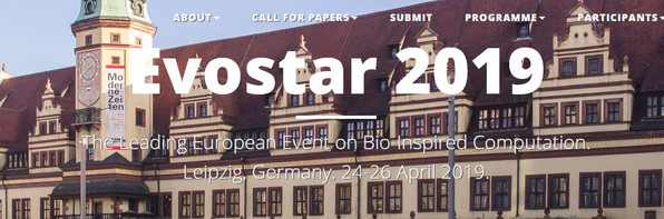 Paper published at EvoApplications Conference in Leipzig, Germany