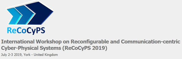SAFIRE sponsoring ReCoCyPS 2019 Workshop 2-3 July 2019