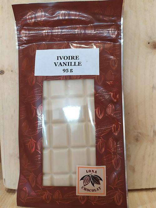 Tablette Ivoire Vanille 95g