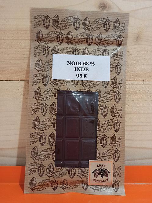 Tablette Noir 68% Inde 95g
