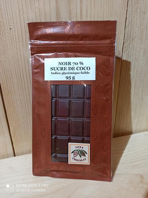 Tablette Noir 70% Sucre de Coco 95g