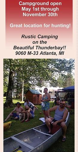 Rentals & Rates | Atlanta | Becks Red Lantern Campground