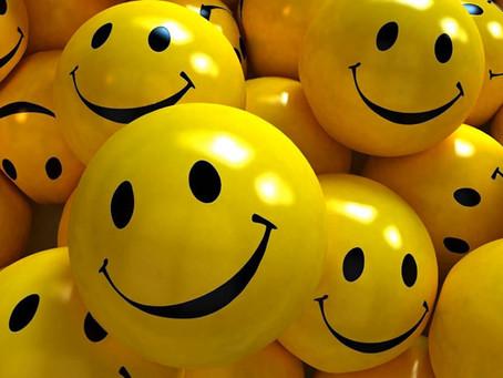 ¿Cuándo dirías que deberíamos sonreír más, cuando uno está contento o cuando uno está triste?