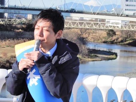 鴨池人道橋から富士山がクッキリ見える!