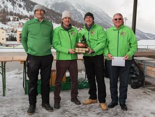 CC Thurgau 1 gewinnt 25. Samedan Trophy