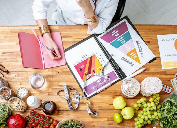 Mediterranean Diet serving recommendations 1400 calorie level