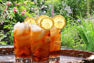 Spiked Cider iced tea