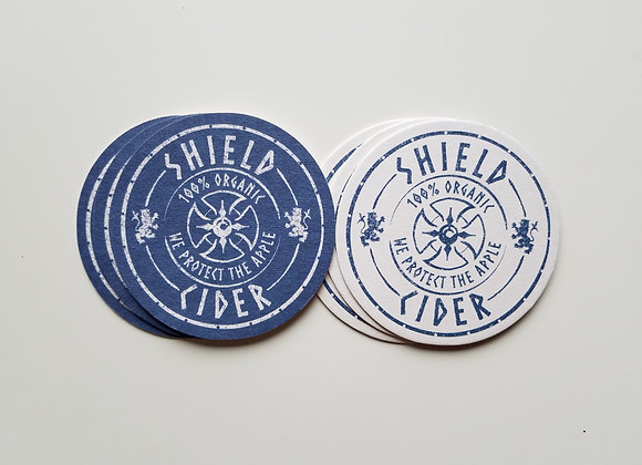 Shield Coasters, Pack of 6