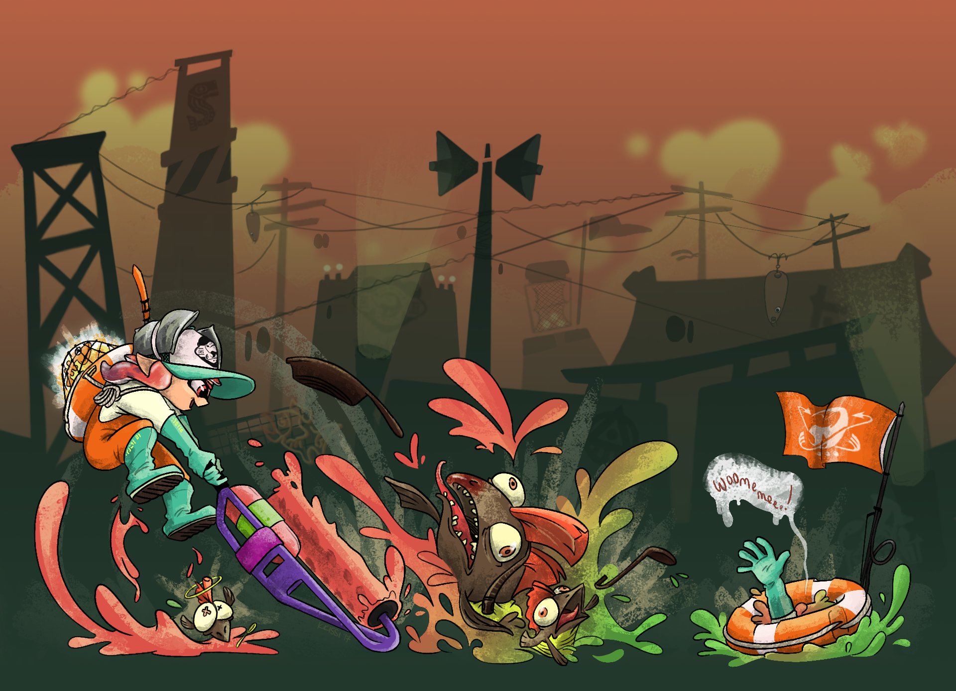 Salmon Run: Rescue!