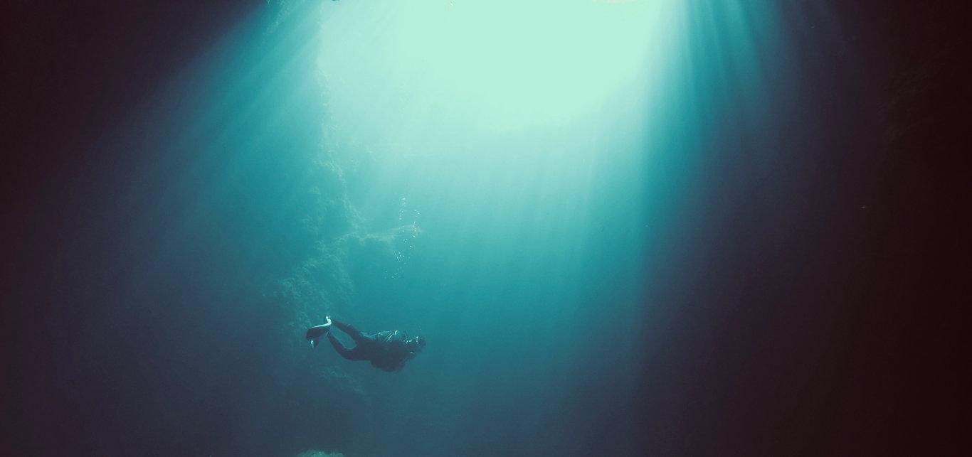 plongée Blue hole gozo