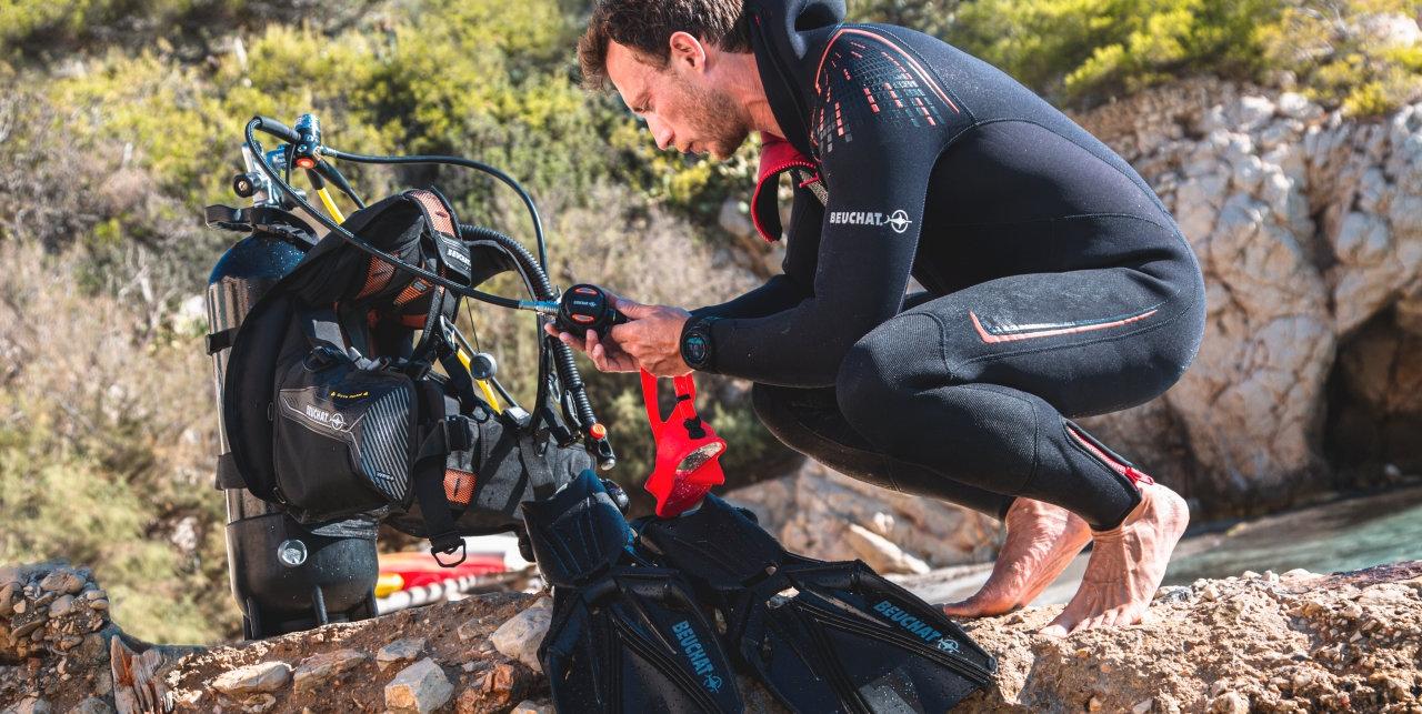Plongeur Beuchat Malte
