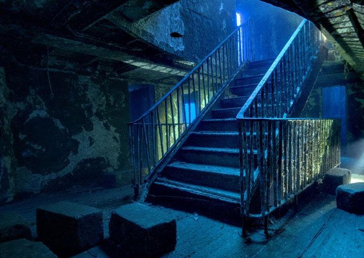 escalier épave karwella gozo