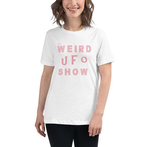 The Weird UFO Shop Women's Relaxed T-Shirt