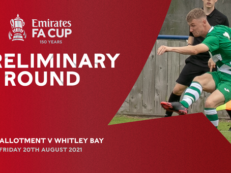 Match Preview: West Allotment Celtic vs Whitley Bay (Emirates FA Cup Preliminary Round)