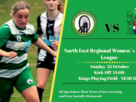 Blyth Town Next Up For Ladies