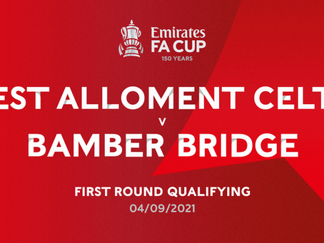 Match Preview: West Allotment Celtic vs Bamber Bridge - Emirates FA Cup First Round Qualifying