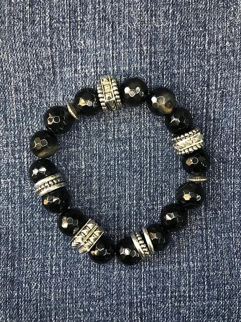 Midnight unisex bracelet
