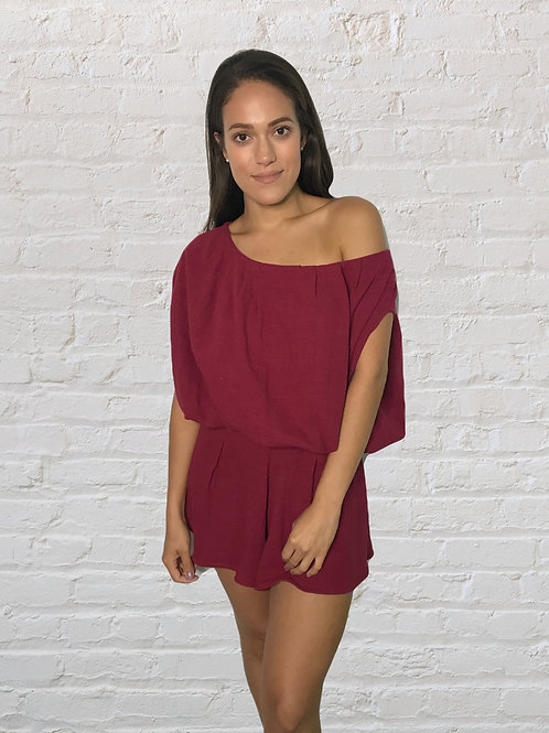 Paula blouse & short set