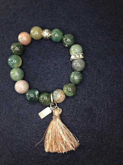 Greens multi color bracelet