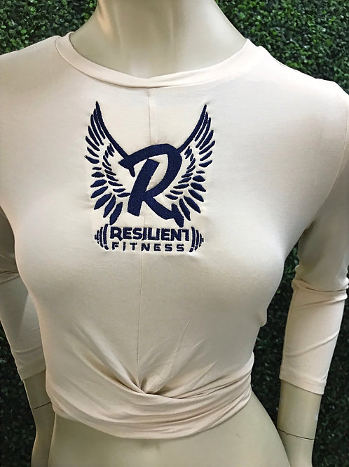 Resilient navy wings crop