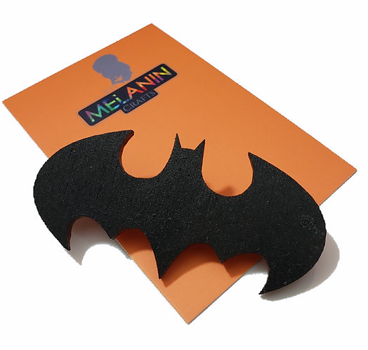 Bat Symbol Brooch Pin