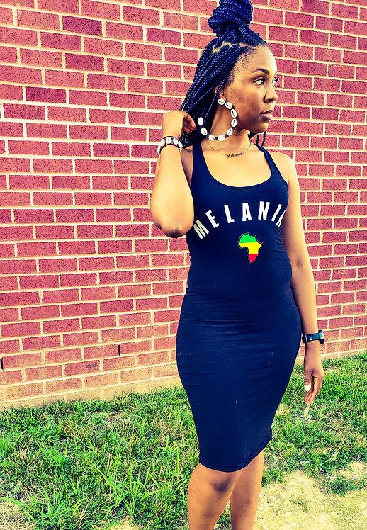 Melanin Tank Dress