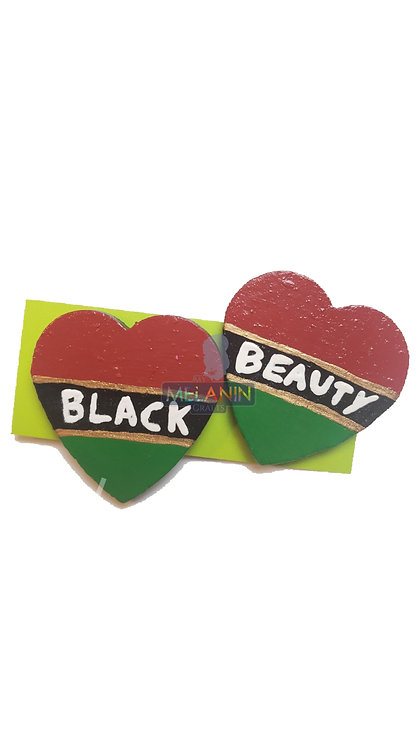 Black Beauty Cuties Earrings
