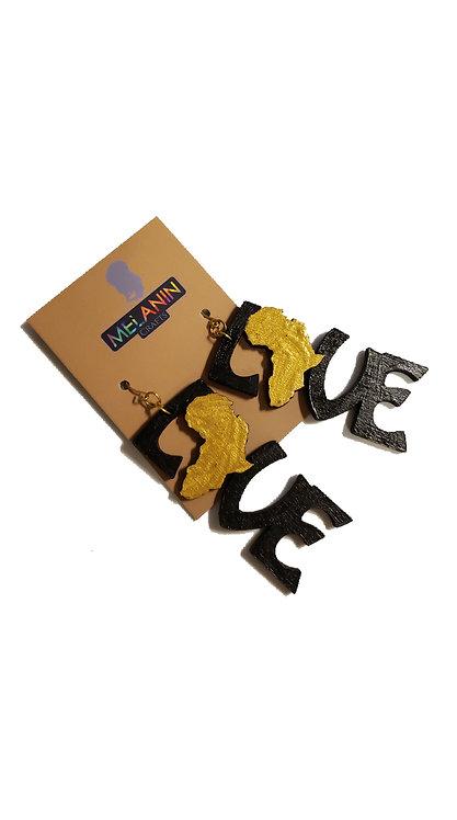 Love Africa Earrings