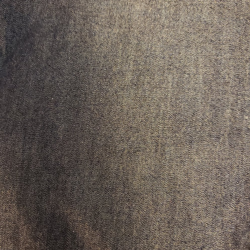 Dark Denim - Fabric Button Earrings