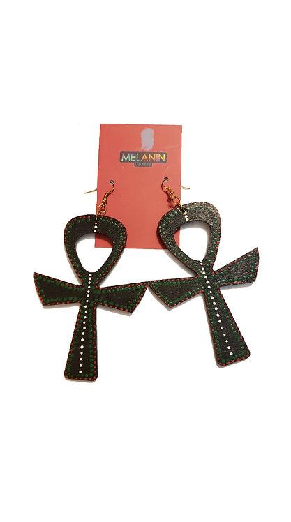 RBG Ankh Earrings